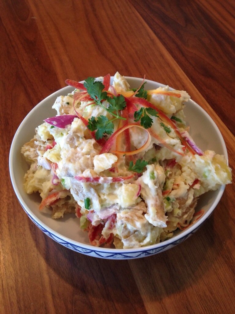 Rainbow Potato Salad