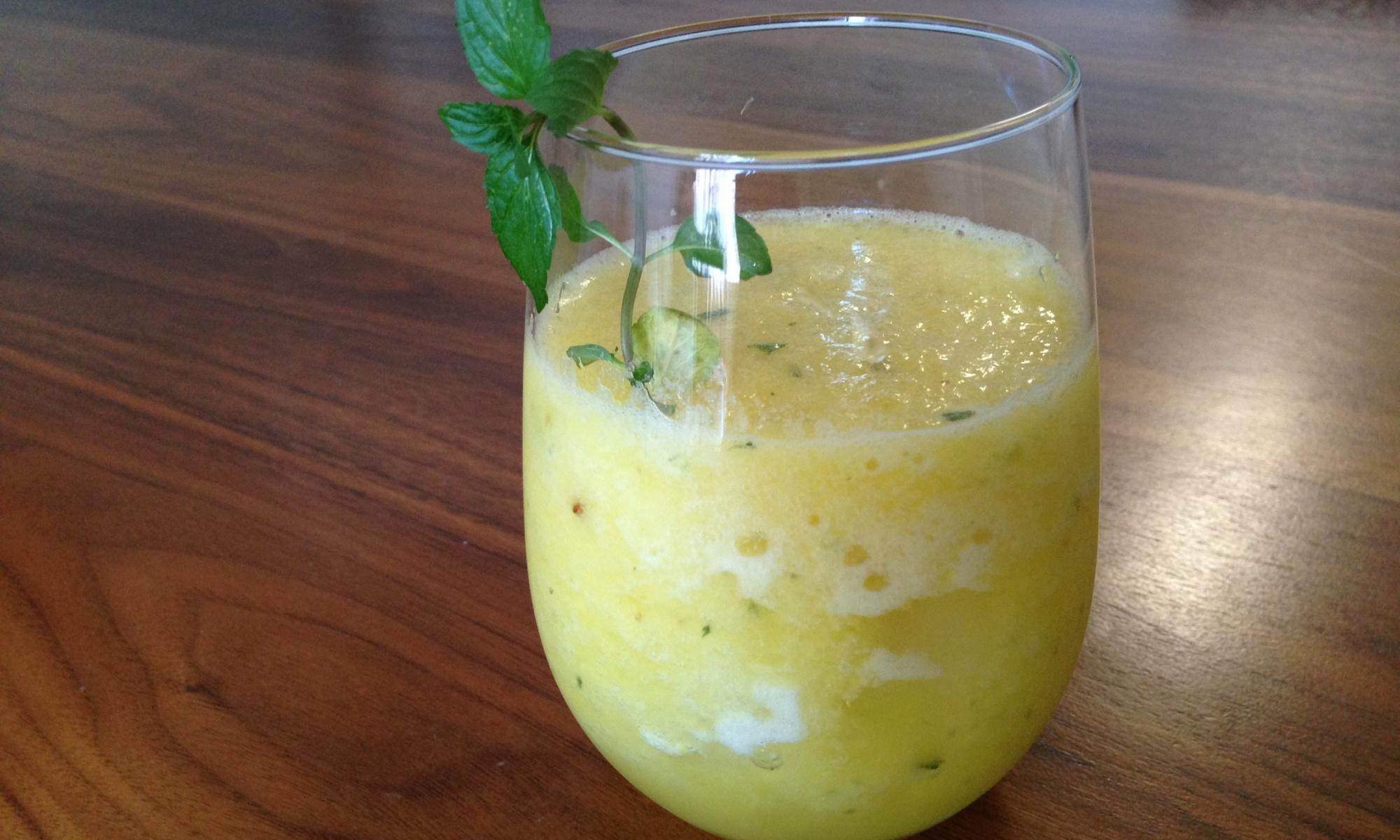 Pineapple Melon Mint Juice