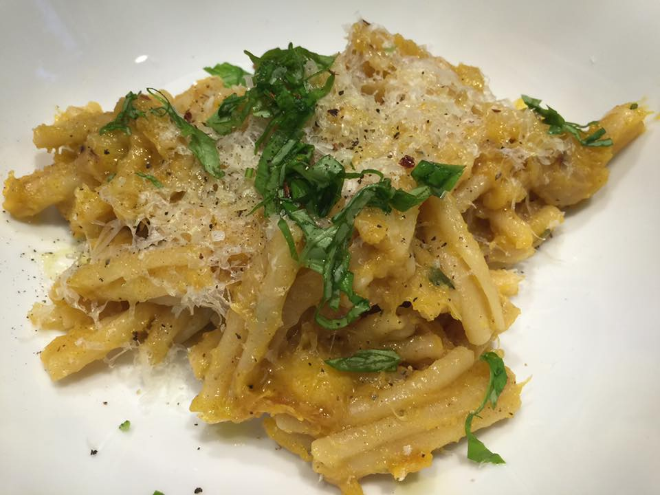 Acorn Squash Pasta with Brown Butter Sage Sauce