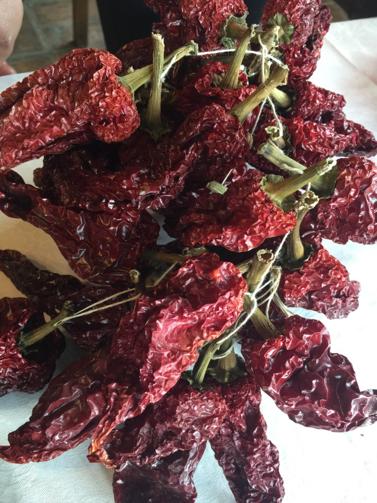 Plump Shade Dried Red Peppers