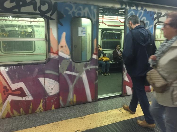 Grittier Side of Rome Metro