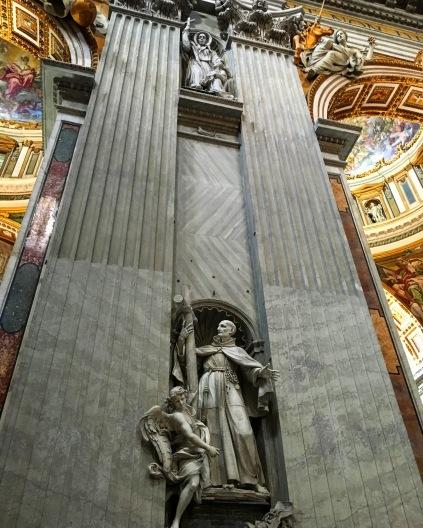 Art inside The Vatican