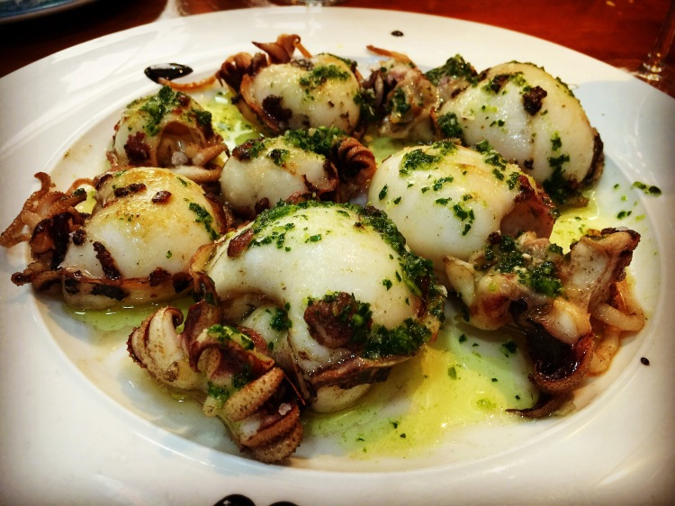 Calamari at La Barraca del Delta