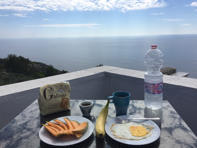 Breakfast in Leuca
