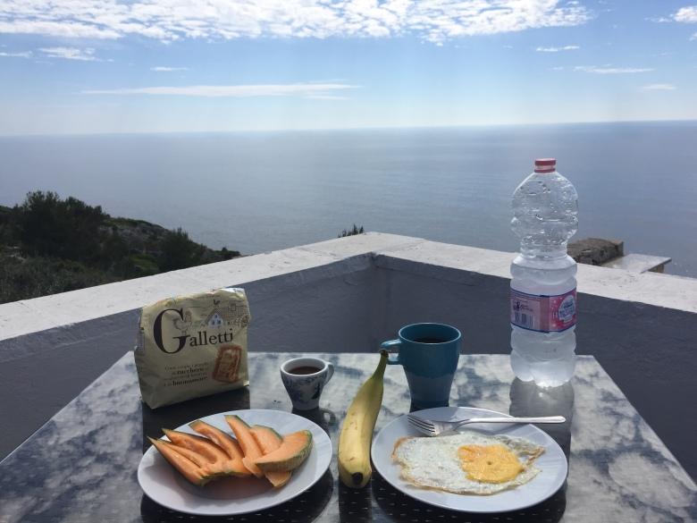 Breakfast in Leuca