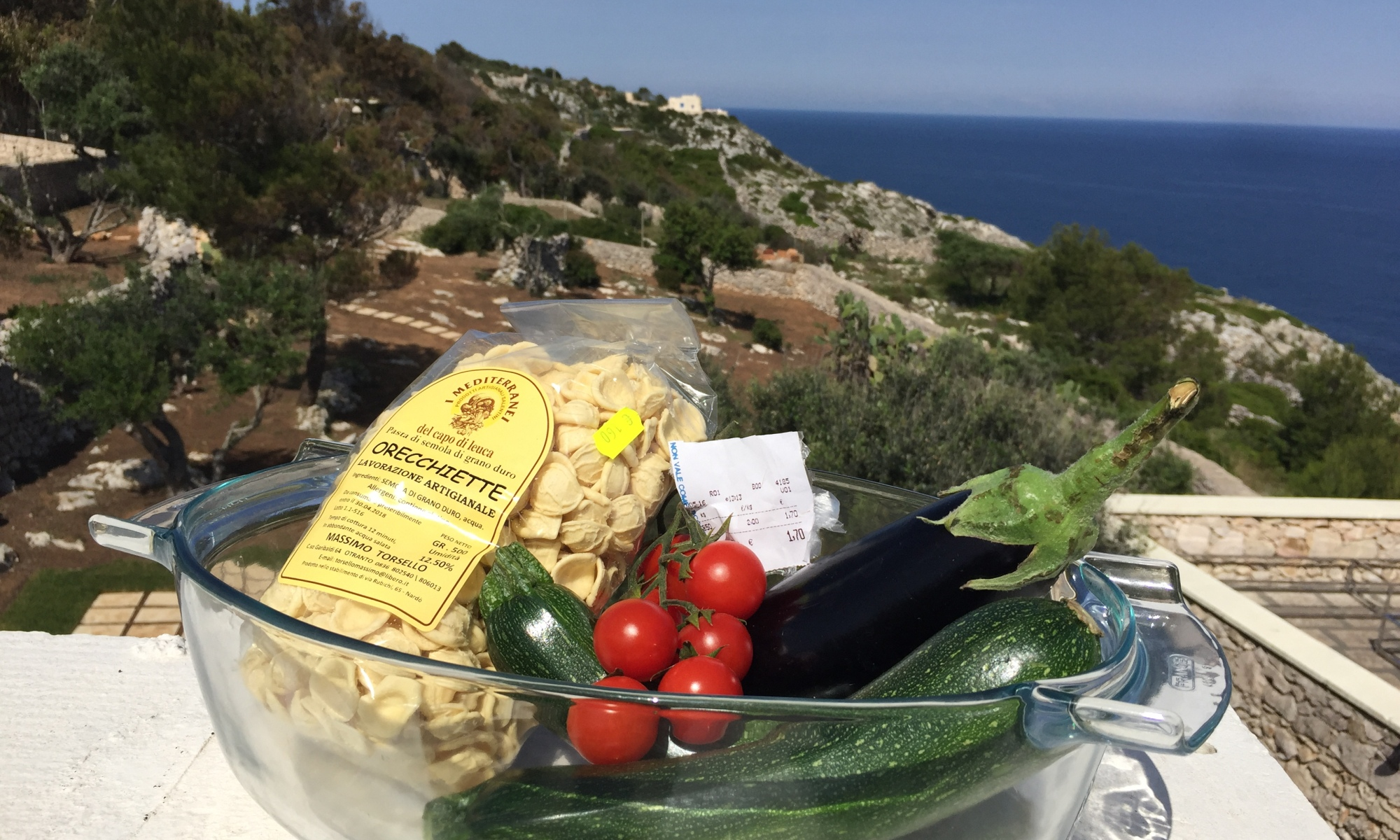 Groceries in Leuca