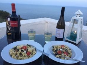 Dinner in Leuca