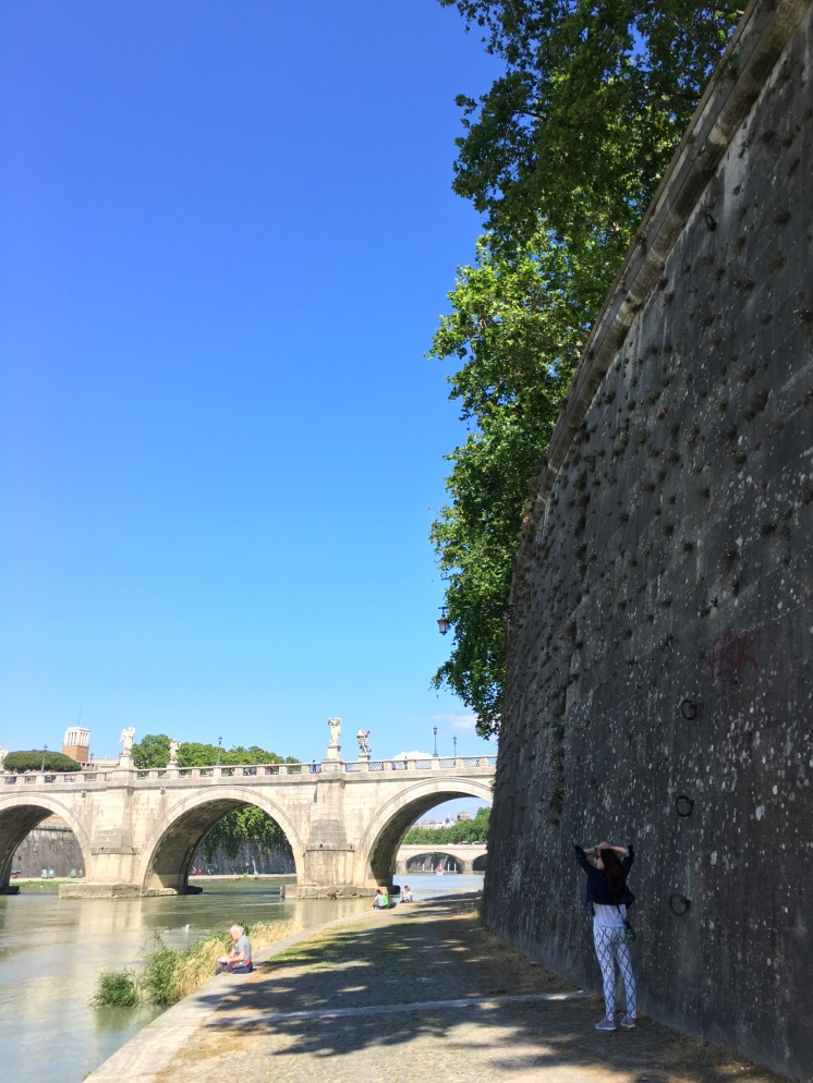 Afternoon Walk by the Tiber