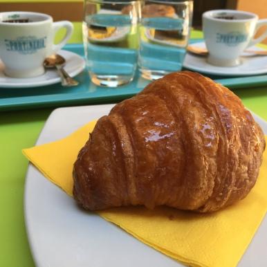 Croissant at La Portineria