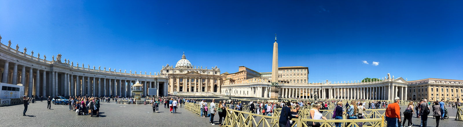 Outside the Vatican