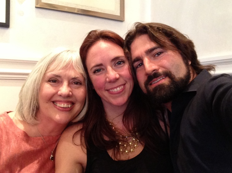 Mom, Myself and Paolo in NYC