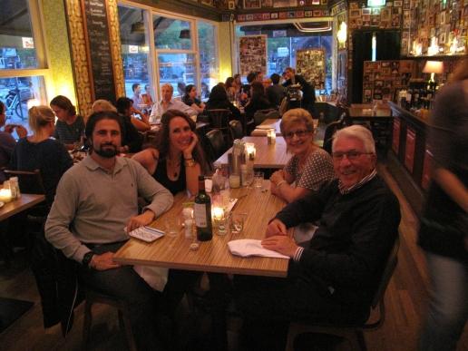 Family Dinner in Amsterdam