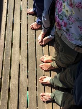 Barefoot in Burma