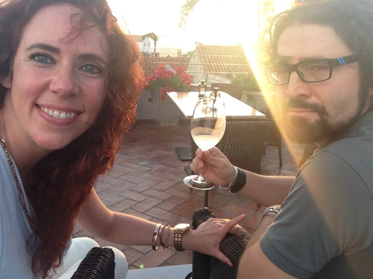 Sunset Toast on top of Hotel Anandà
