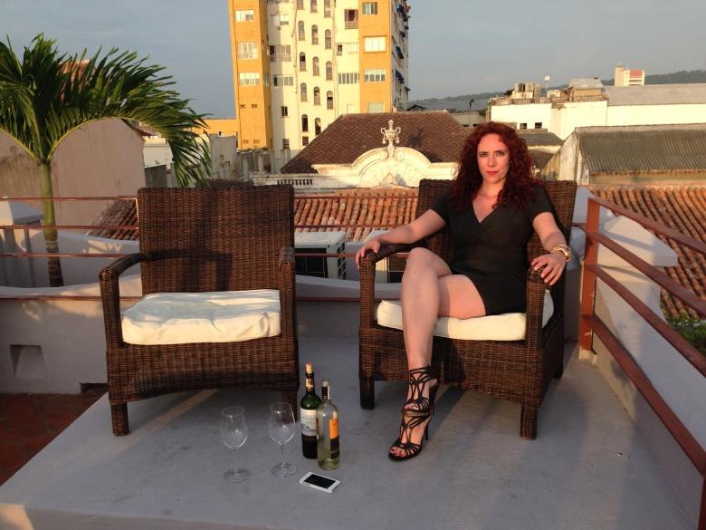 Holding Court in Cartagena