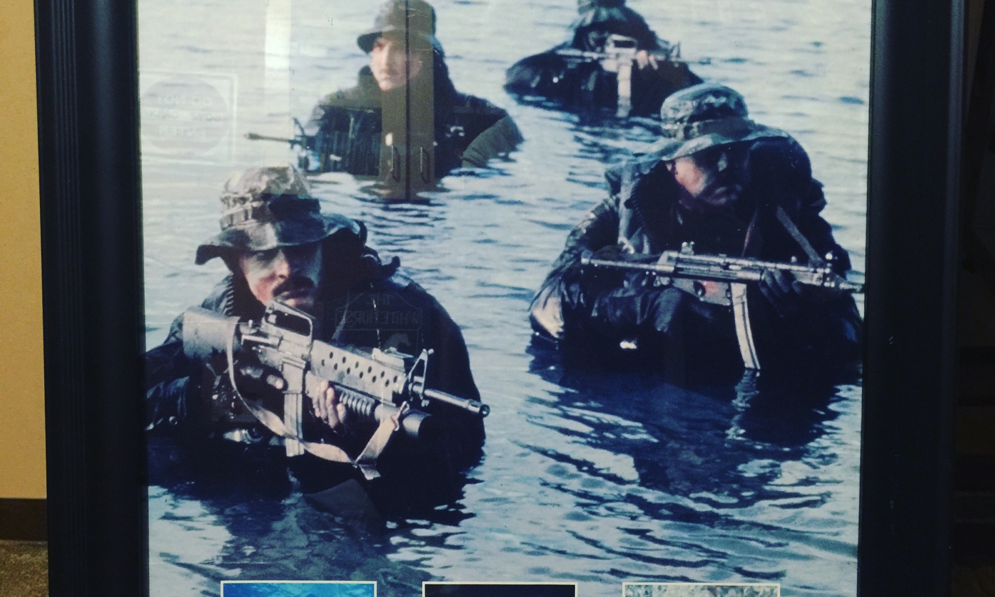 Mark's Copy of HIs Navy Seals Poster
