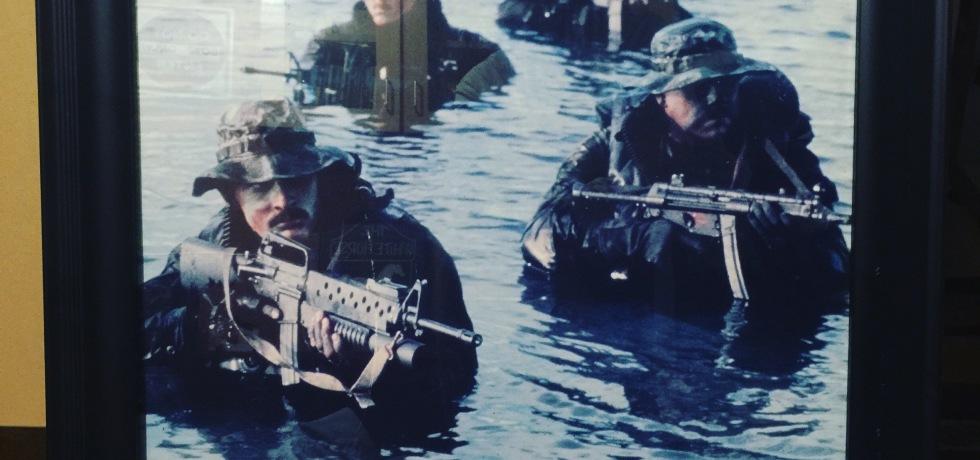 Mark's Copy of HIs Navy Seals Poster