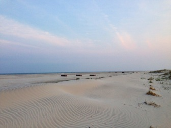 Empty Beaches of Cape May