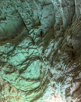 Color Inside the Grottos of Vieste