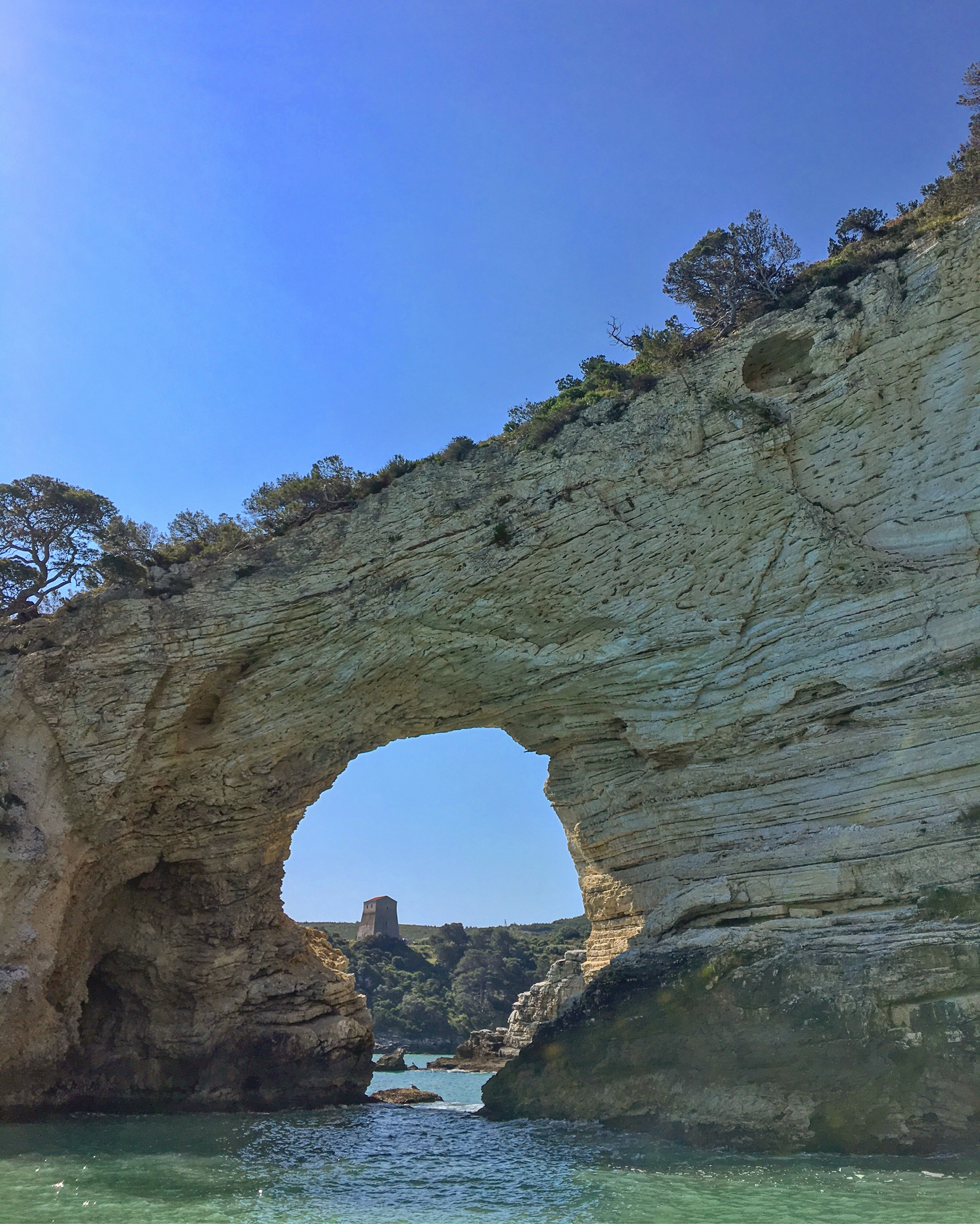 Limestone Arch on Vieste Shore