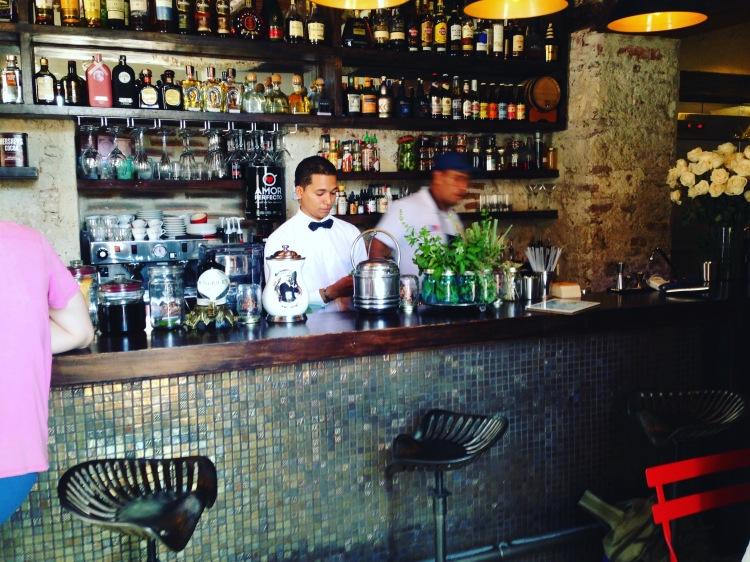 Master Cocktailmen of El Baron Cartagena