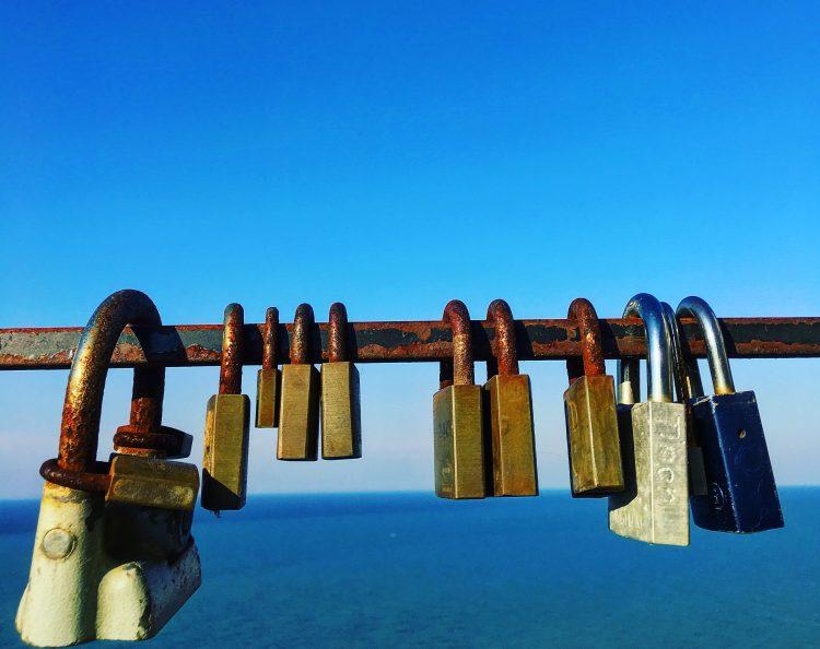 Love Locks in Peschichi Italy