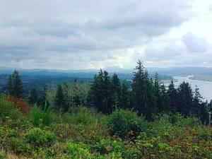 View of Astoria Washington