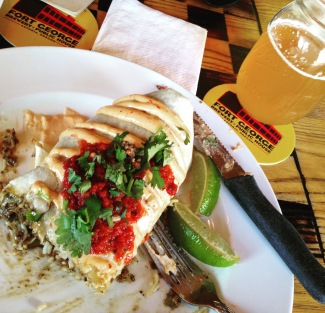Burrito & Beer at Fort George Brewery