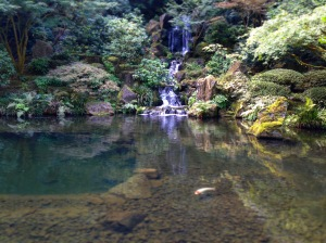 Waterfall of Relaxation Japanese Garden