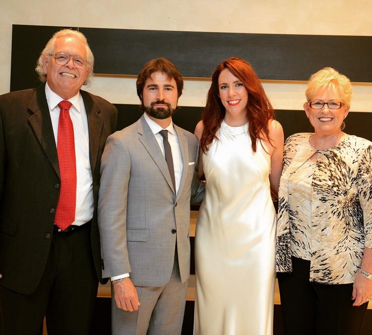 Steve, Bello, Myself and Linda
