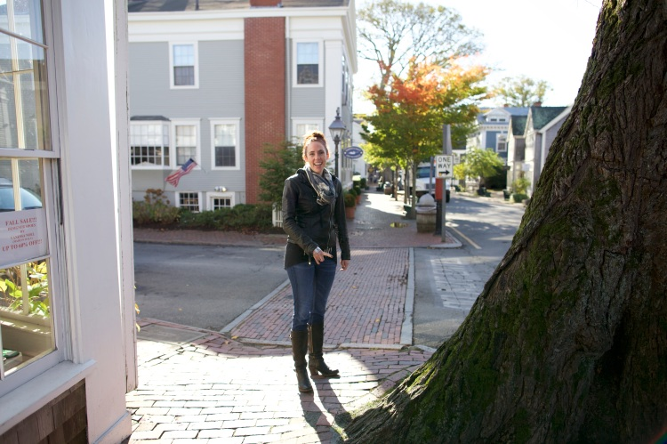 Playing Downtown Nantucket