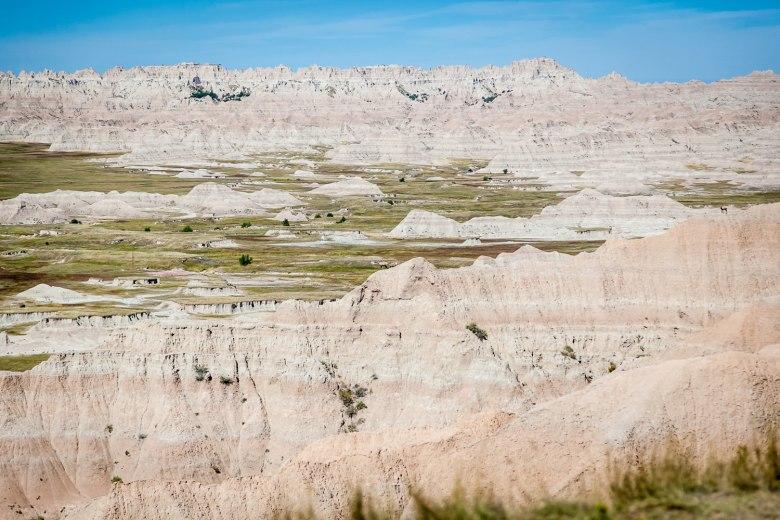 Rising Color, Badlands South Dakota