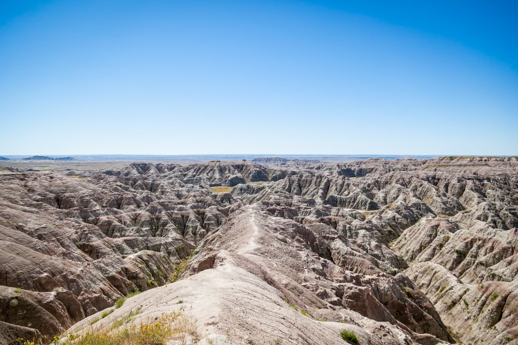 White River Valley Overlook, Badlands
