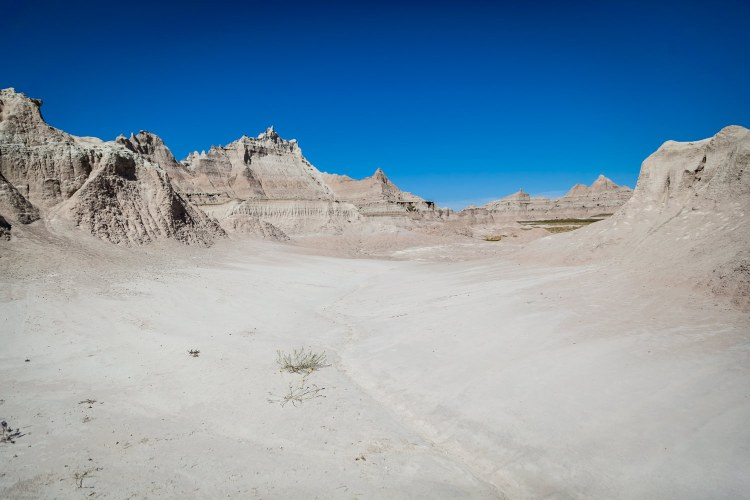 Washes of White, Badlands