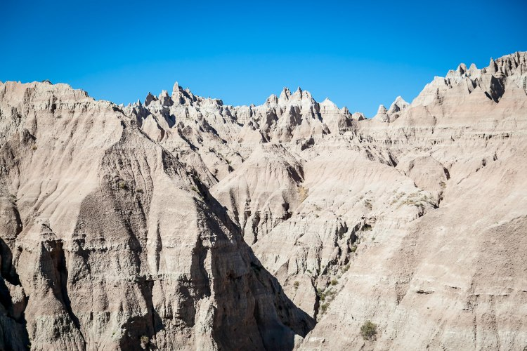 Sharps Formation in the Badlands