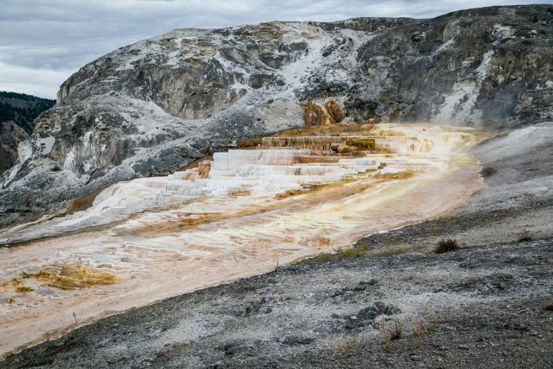 Mammoth Hot Springs Terraces