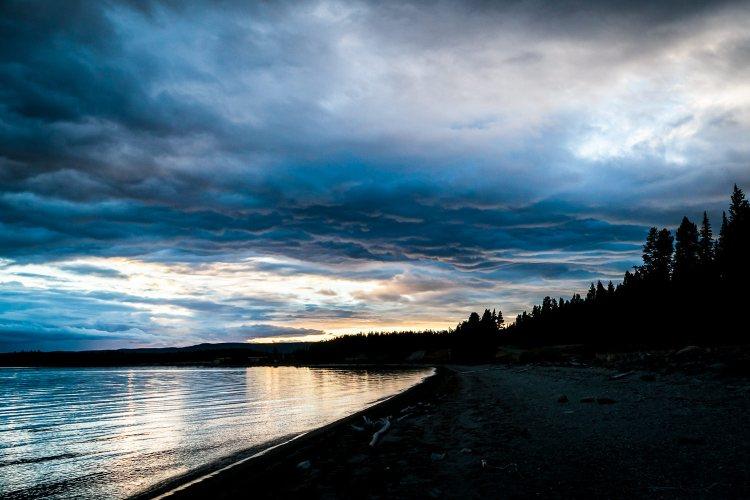 Mary Bay of Yellowstone Lake