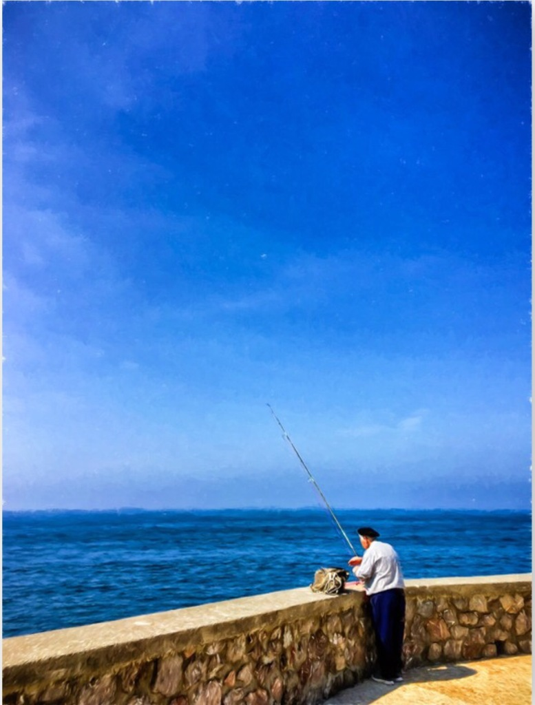 The Fisherman by Paolo Ferraris Colors