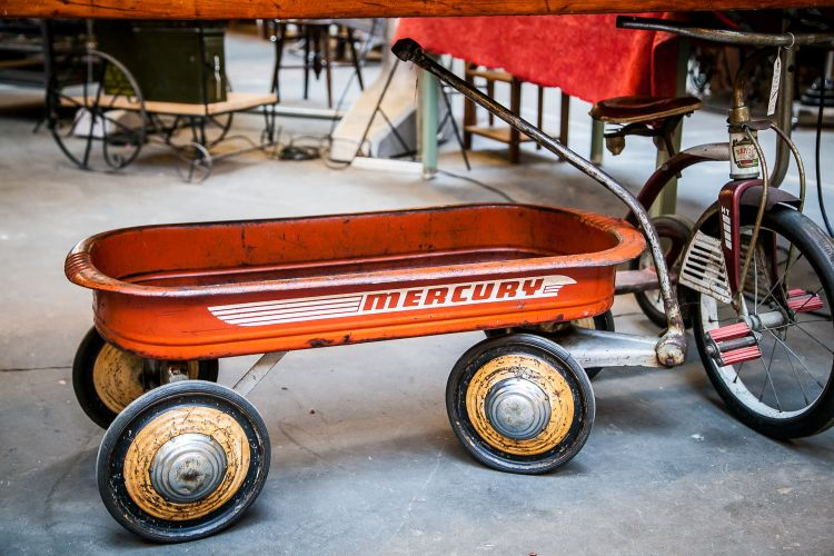 Mercury Red Wagon from Old Portland Hardware & Architecture