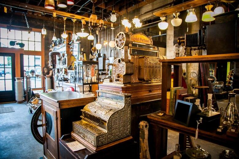 Steps Inside Old Portland Hardware & Architectural