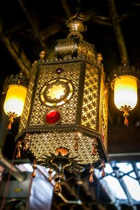 Original Lamp from Portland's Oriental Theater