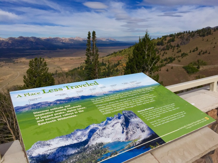 Sawtooth Forest Signage