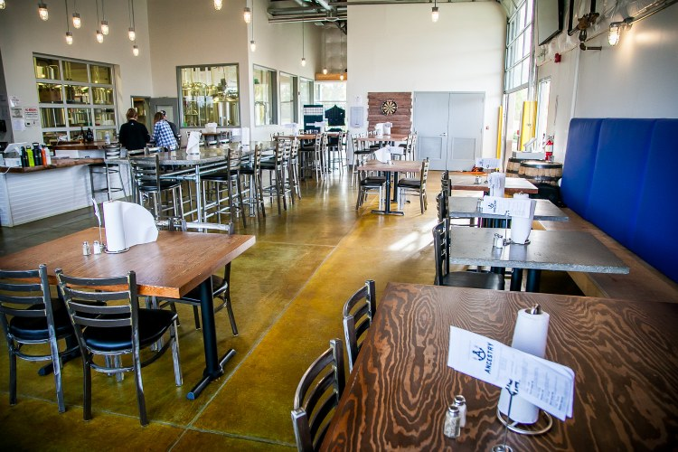 Taproom at Ancestry Brewing Tualatin