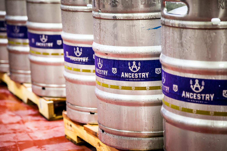 Ancestry Brewery Barrels