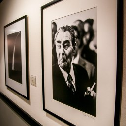 David Hume Kennerly Portrait of Brezhnev