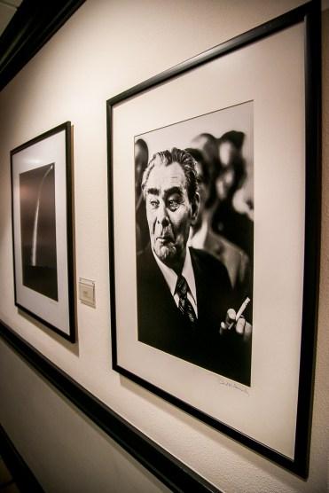 David Hume Kennerly Portrait of Brezhnev