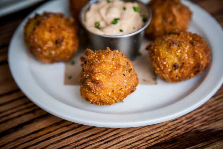 Hushpuppies at Reverend's BBQ ($4.50 for 5)