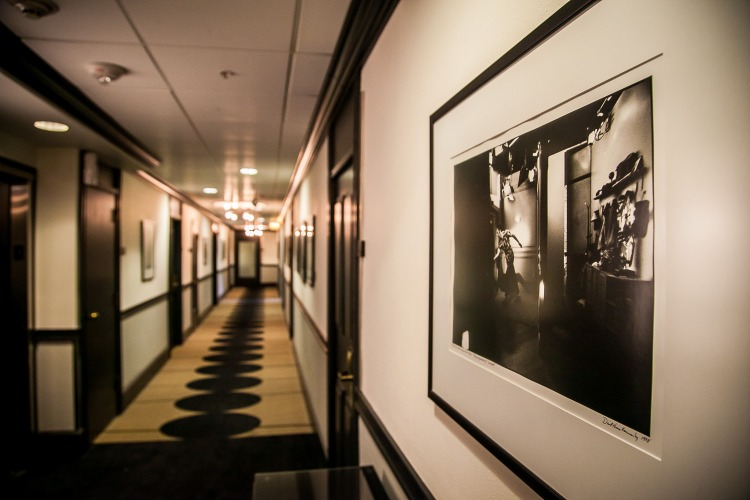 Hallway Galleries of Hotel Lucia