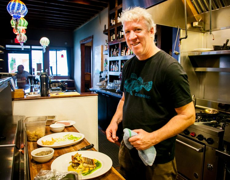 Cabezon Owner & Chef David Farrell
