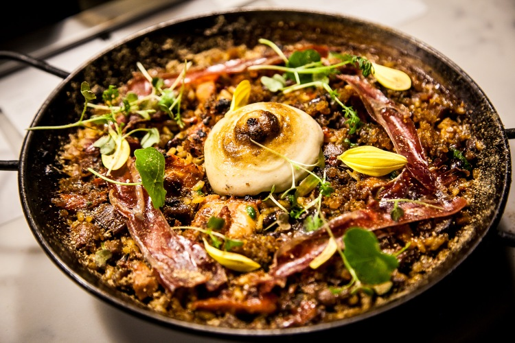 Chesa Paella in honor of Chef Joseé Chesa's Father